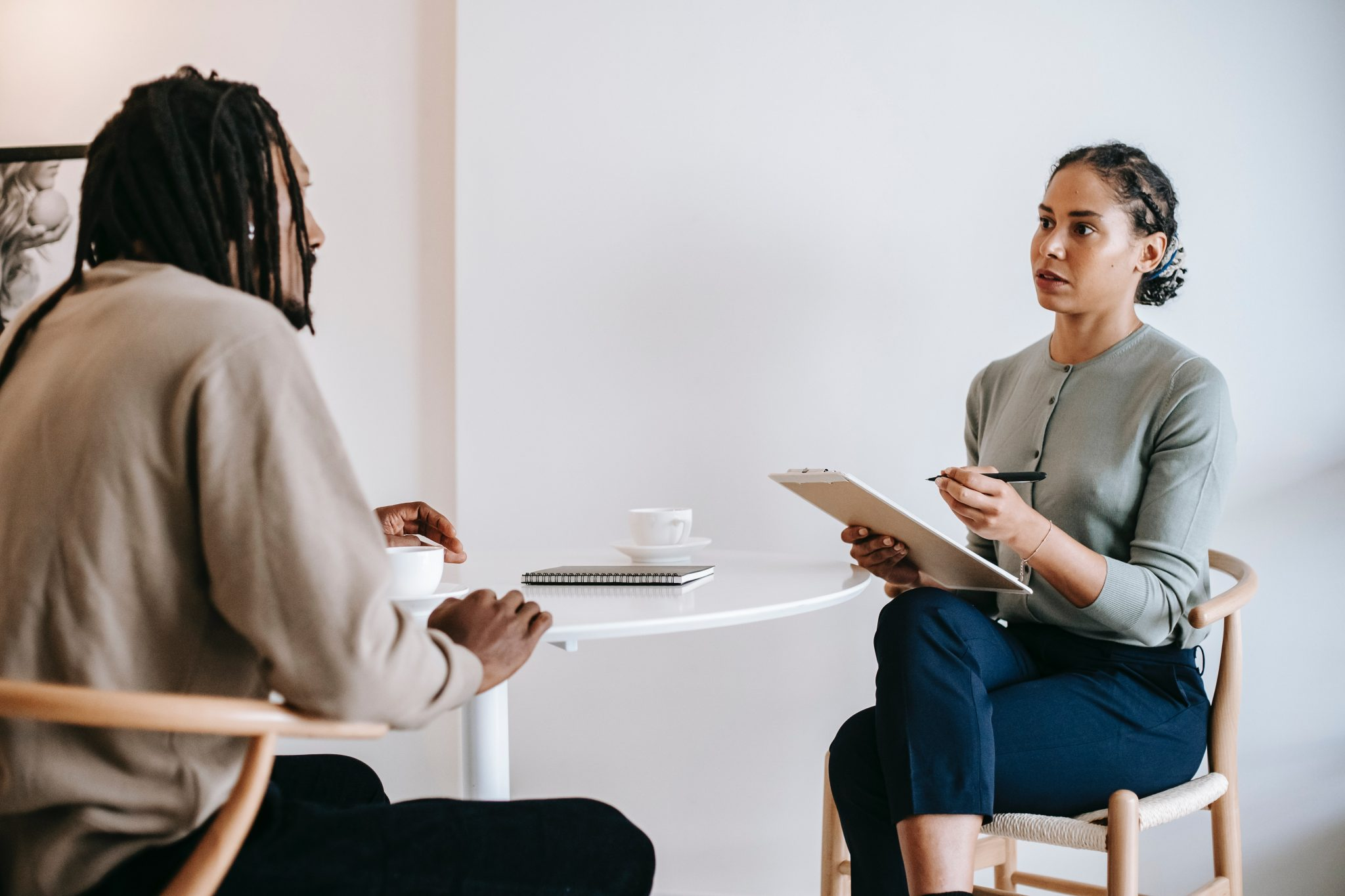 Recruiting with an interview