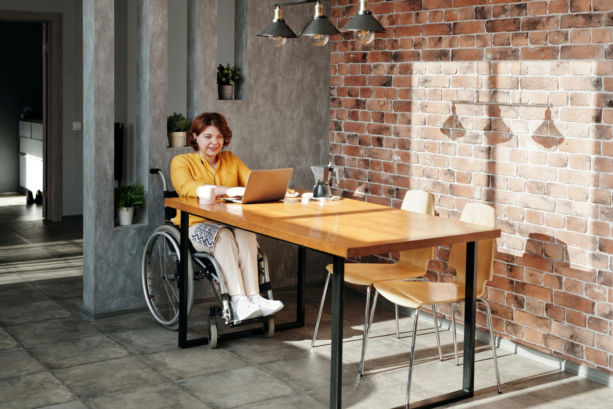 Job application for people with disabilities