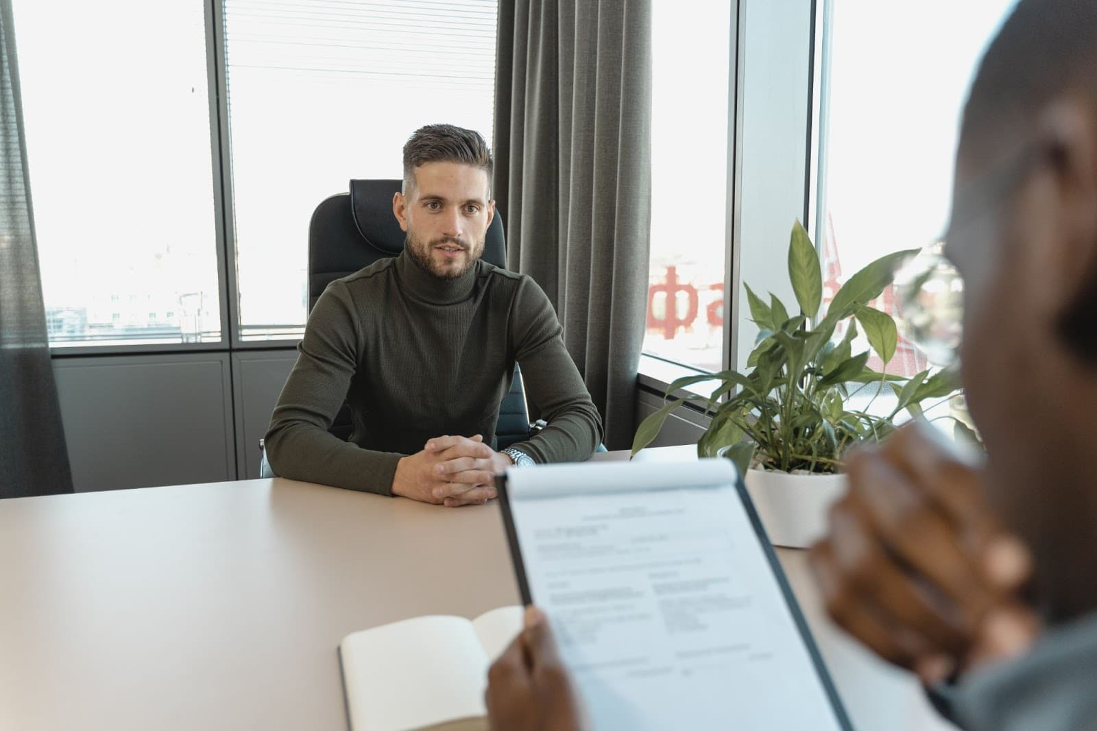 Ask questions job interview